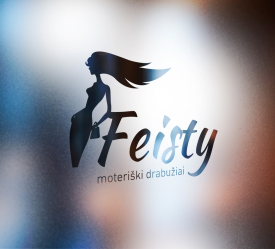 Feisty logotipas
