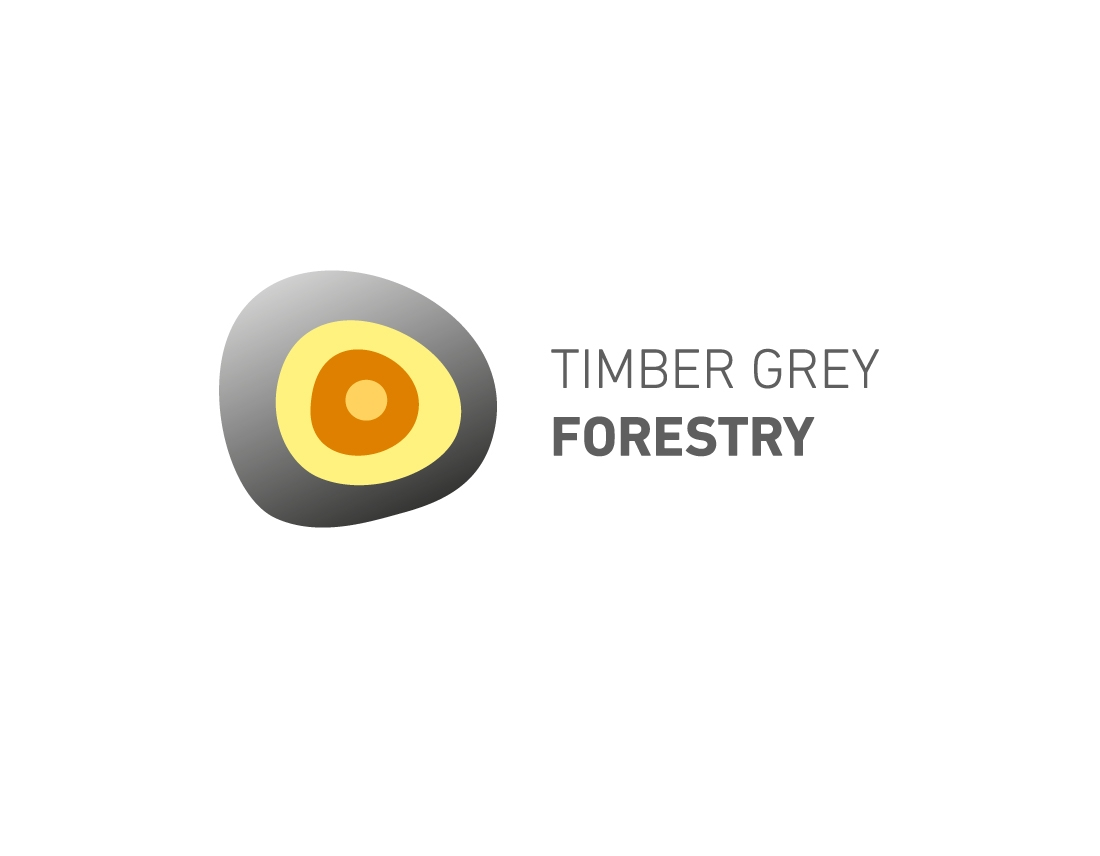 timber grey forestry logotipas